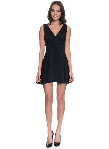 Guess Elbise Siyah